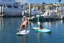 STARBOARD'S SEAN POYTNER TRIES SUP YOGA