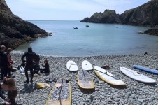 Pembrokeshire, stand up paddle