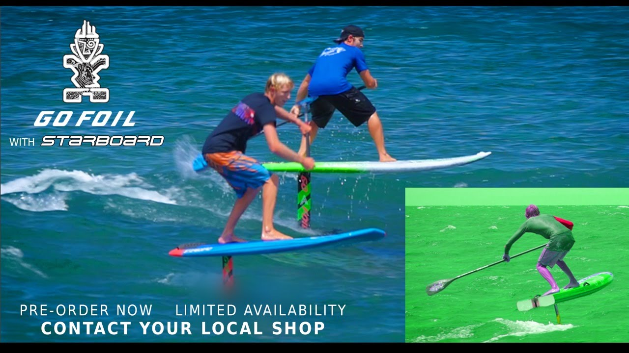 Sup International Magazinego Foil With Starboard