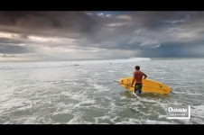 ROBBY NAISH SURFS THE LARGEST SHORE BREAK