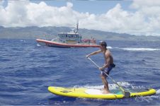 KAI LENNY, COAST GUARD PROMOTE WATER SAFETY