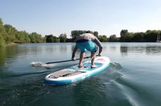 STAND UP PADDLE BOARD TECHNIQUE – THE PADDLE SLAP