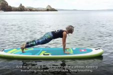 STRETCH YOUR BODY AND MIND WITH SUP YOGA