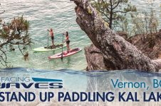 FACING WAVES – KALAMALKA LAKE IN VERNON, BC