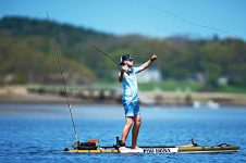 SUP FLY FISHING: LEARNING TO FLY FISH ON A PADDLE BOARD