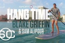 PADDLE BOARDING WITH BLAKE GRIFFIN – ESPN
