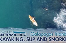 STAND UP PADDLING THE GALAPAGOS ISLANDS –  FACING WAVES
