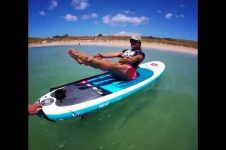 HOW DO YOU DO PILATES ON A SUP BOARD?