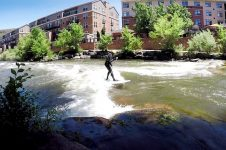 RIVER SURFING HOW TO DO A 360