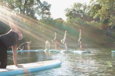 SUP YOGA IS AN EXPERIENCE FOR EVERYONE!