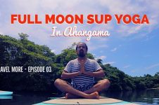 FULL MOON SUP YOGA IN AHANGAMA