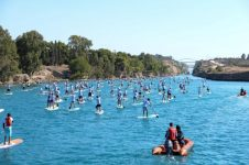 CORINTH CANAL SUP CROSSING 2018 TEASER