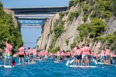 8TH CORINTH CANAL SUP CROSSING – 2018
