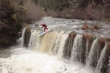 PADDLE BOARDING WATERFALLS