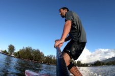 REDWOODPADDLE SUP RIDE IN TAHITI