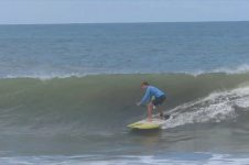 SUP SURFING IN COSTA RICA