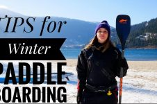 TIPS FOR WINTER PADDLE BOARDING