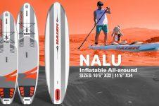 2020 NAISH NALU & ALANA INFLATABLE | ALL-AROUND SUP