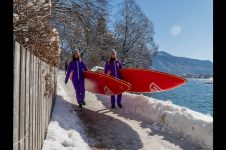 GIRLS ON SUPS | OUR LAST WINTER SUP TOUR