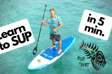 LEARN TO SUP IN 5 MINUTES