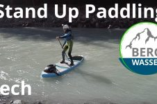 STAND UP PADDLING ON THE LECH IN THE ALLGÄU
