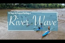 SUP SURFING A RIVER WAVE AND CRUISING FRANCE!