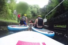 SUP ALONG DUDLEY CANAL AND TUNNEL