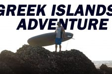 GREEK ISLANDS PADDLEBOARDING ADVENTURE… AND SOME SHENANIGANS