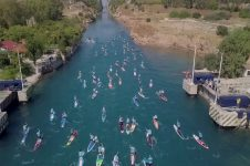 9TH CORINTH CANAL SUP CROSSING 2019 | RECAP