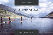 SCOTLAND STAND UP PADDLE EXPEDITION