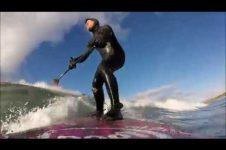 SUP ON SCOTLAND'S NORTH COAST, DUNNET BEACH, CAITHNESS