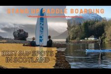 BEST PLACES FOR STAND UP PADDLE IN SCOTLAND