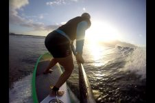 SUNSET PADDLE SURF INTO 2020 SUZIE COONEY MAUI