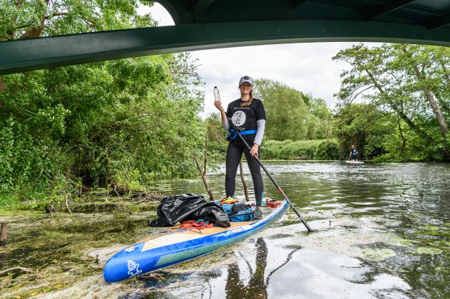 World Environment Day - The Midcounties Co-operative's Big Clean Up. Warwick. 5 June 2019. Pictured is The Midcounties Co-operative Environmental Ambassador Cal Major. Picture by Simon Hadley. Simon Hadley Photography. 07774 193699 mail@simonhadley.co.uk www.simonhadley.co.uk