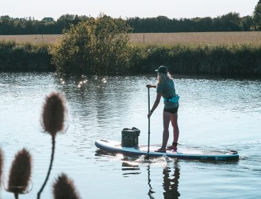 Getting away from it on on your SUP