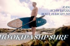 ZANE SCHWEITZER SUP SURFING HO'OKIPA, MAUI 2020