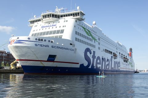 Close up with the Stena Line!
