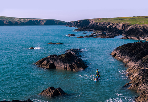 SUP_Around_Wales_drone-0590