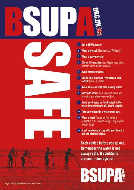 A4 BSUPA safety poster AW