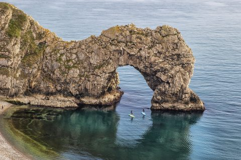 The perfect evening to hit Durdle Door